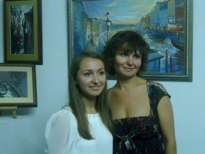 Фото: У Полтаві відкрилась виставка картин «Венеційські impressio» (фото)