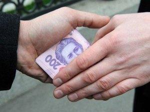 Фото: Посадовець з Полтави піймався на хабарі