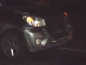 Фото: У Полтаві при спуску з бруківки по Леніна зіштовхнулися 4 авто (фото)