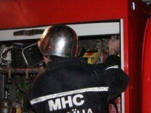 Фото: У Полтаві на Красіна горіло кафе