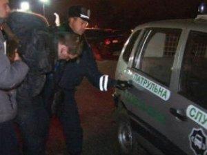Фото: У Одесі полтавські стрільці  погрожували міліції