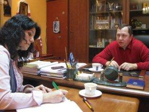 Фото: Головний міліціонер Полтавщини Едуард Федосов розповів про себе та привітав колег