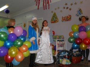 Фото: Полтавська влада привітала хворих дітей з Різдвом Христовим (фото)