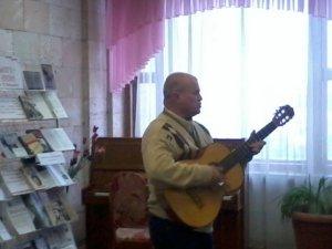 До 75-річчя Висоцького у Полтаві співали його пісні