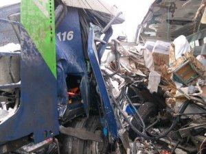 Фото: Автобус «Пирятин-Полтава» на київській трасі зіткнувся з вантажівкою: постраждали 9 пасажирів (фото)