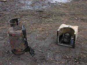 Фото: Полтавець згорів в автомобілі (+фото)