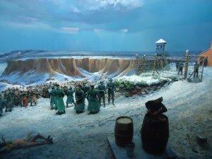 Фото: У таборі смерті «Хорольська яма» в'язні 2 роки виживали під відкритим небом