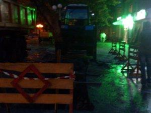 Фото: Центр Полтави розрили: немає водопостачання
