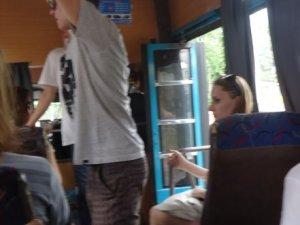 Фото: Я – репортер. Водії полтавських автобусів їздять із відчиненими дверима