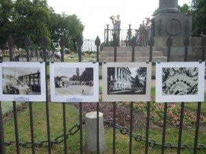 Фото: У Полтаві митці 4 години співали та декламували заради порятунку Кадетського корпусу (фото)