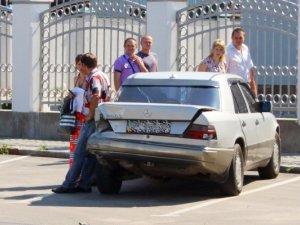 Фото: У Полтаві – ДТП: від авто не залишилось майже нічого(+карта)