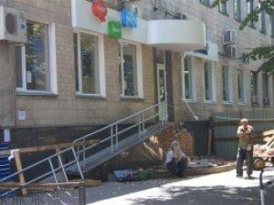 Фото: «Укртелеком» у центрі Полтави закрили на ремонт (фотофакт)