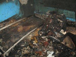 Фото: У Полтаві горіла котельня ліцею транспорту