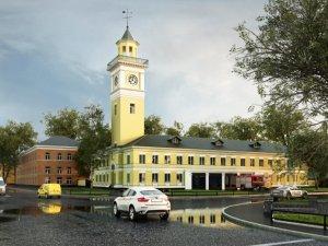 Фото: У Полтаві «каланчу» пообіцяли відремонтувати до Дня міста