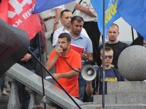 Фото: Більше сотні полтавців мітингували проти підвищення цін на проїзд (фоторепортаж)