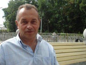 Фото: Росіянин за 10 днів на велосипеді приїхав до Полтави, щоб допомогти хворим дітям