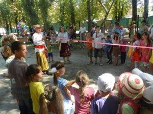 Фото: Маленькі полтавці пройшли випробування справжніх козаків