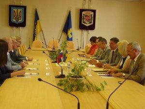 Фото: Полтавські міста готові шукати партнерів у Ленінградській області