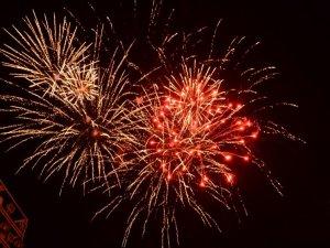 Фото: Салют у Полтаві до Дня Незалежності (фото)