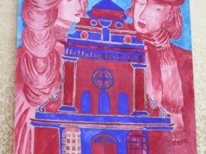 Фото: До Полтави привезли виставку картин зі Львова (фото)