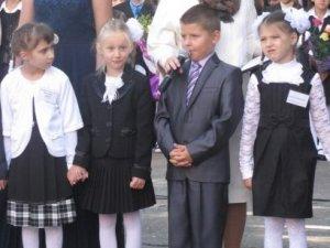 Фото: Полтавська школа отримала 50-е покоління першачків та комп'ютерний клас