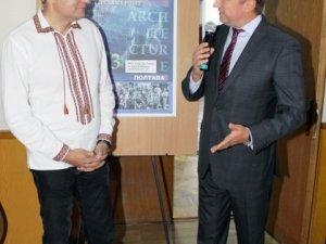 Фото: У Полтаві мер Львова провів лекцію та відкрив виставку дипломних проектів (+ фото)