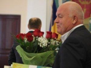 Фото: Мер Полтави Олександр Мамай вручив почесні грамоти і квіти двом депутатам