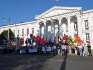 Фото: Завтра у Полтаві знову мітингуватимуть: проситимуть спростити тарифи