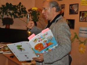 Фото: Іван Малкович у Полтаві читав вірші та розповідав про своє видавництво (фото)