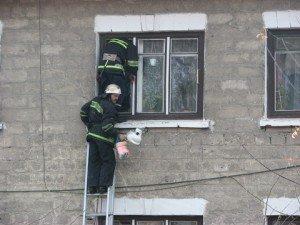 Фото: У Полтаві пенсіонерка стала заручницею власної квартири