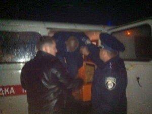 Фото: Один з міліціонерів, врізавшись в автобус на Полтавщині, хотів втекти (розповідь очевидця+фото)