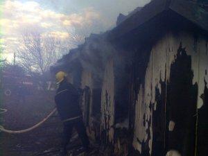 Фото: Пожежа на Полтавщині: у найманому будинку згорів квартирант