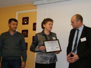 Фото: Полтавських борців з безпритульністю відзначили у Львові