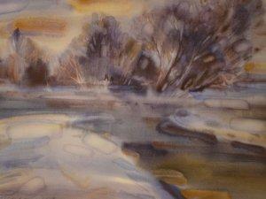 Фото: Картини полтавської художниці Марини Рожнятовської покажуть у Луцьку