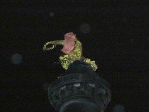 Фото: Я-Репортер. Полтавці скаржаться на літаючі палаючі ліхтарики, які засмітили місто (фото та відео)