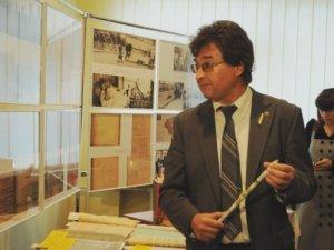 Фото: Виставка архівних документів-свідчень трагедії Голодомору відкрилася у Полтаві (фото)