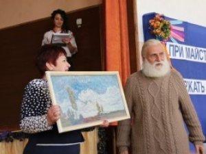 Фото: Картинну галерею сучасного мистецтва відкрили у полтавській школі (фото)