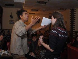 Фото: У Полтаві «Літературний десант» бомбив поезією