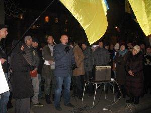 Фото: Євромайдан у Полтаві. 30 листопада