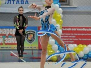 У Полтаві пройшов турнір з художньої гімнастики «Зимові дива»