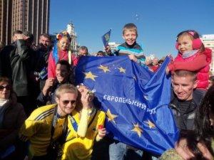 Фото: Полтавка – про Євромайдан в Мадриді (+фоторепортаж)