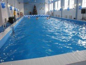 Фото: У Гадячі відкрили басейн при школі-інтернаті