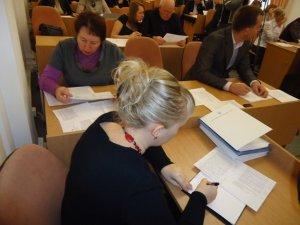 Фото: Передноворічна сесія Полтавської міськради: депутати за 40 хвилин вирішили роботу наступного року (+фото)