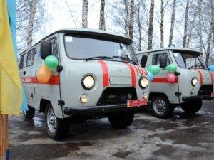 Фото: Шишацькі медики отримали нові санітарні машини