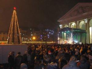 Фото: Полтава святкує Новий рік. Фото.