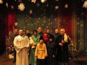 Фото: Різдво на Полтавщині: в Кременчуцькій колонії свято зустріли колядками
