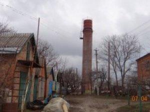 Фото: У селі під Полтавою впала водонапірна башта