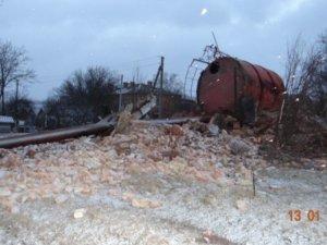 Фото: Через падіння вежі під Полтавою у будинках тряслися ліжка: коли людям обіцяють воду