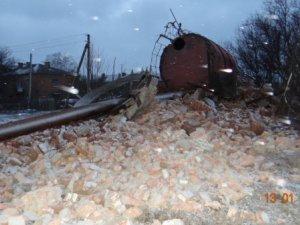 Фото: Під Полтавою в Біологічному, де впала водонапірна  башта, відновили водопостачання