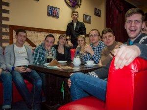 Фото: У Полтаві на «Убойному квартирнику» жартували про Євромайдан (фото)